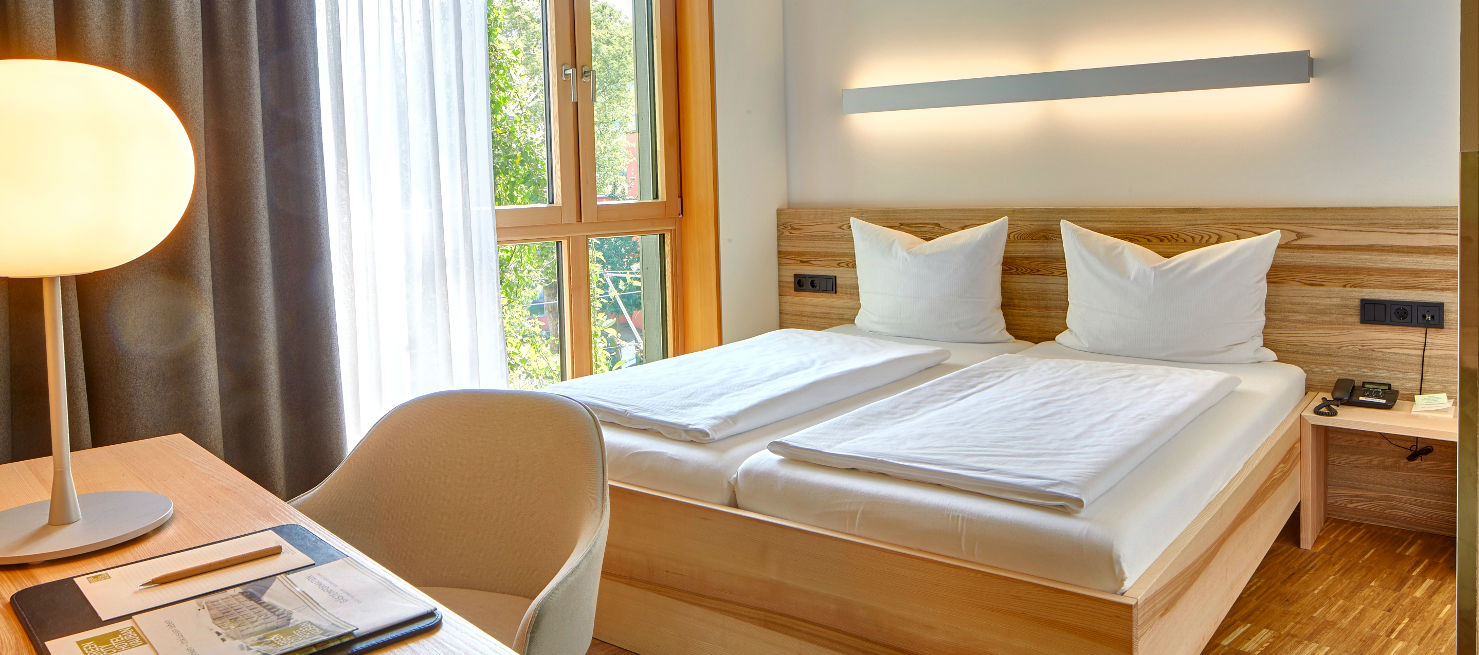 Green City Hotel Vauban - Standard Zimmer